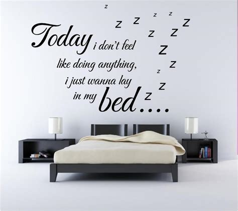 cool wall stickers for bedrooms best wall sticker quotes for bedrooms small room