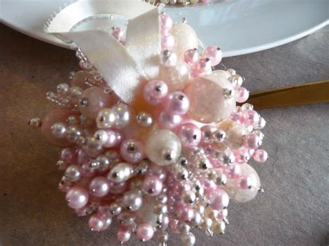 how to make beaded ornaments sparkly beaded ornaments from jewelry