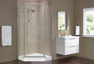 Living Home Decor Ideas shower base and wall replacement at the home depot