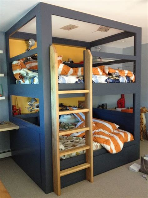 boy bunk beds mommo design 8 cool bunk beds
