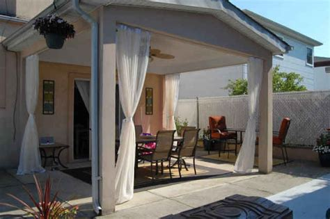 patio mosquito curtains patio screening exles from diy homeowners