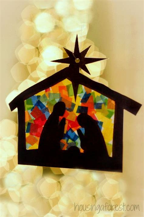 nativity paper craft creative tissue paper crafts for and adults hative