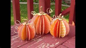 paper pumpkin craft easy diy paper pumpkin crafts project ideas