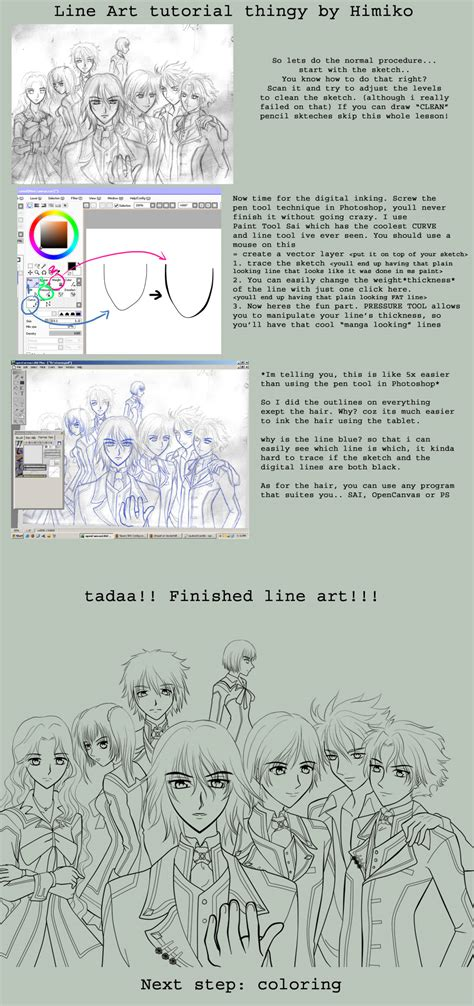 paint tool sai tutorial line line tutorial in sai by himiko on deviantart