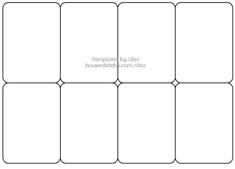 template to make a card 8 best images of blank card printable template for