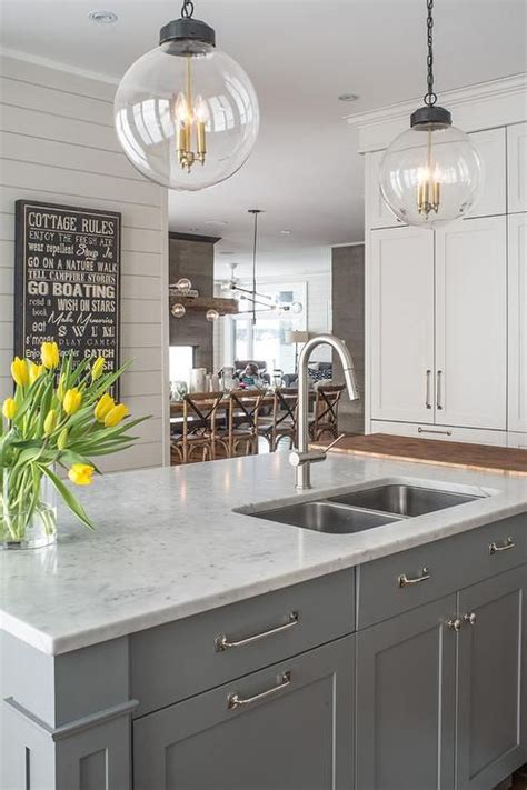gray kitchen sink 29 quartz kitchen countertops ideas with pros and cons