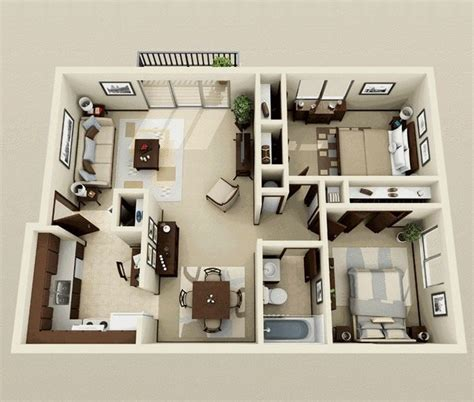 two bedroom interior design 25 best ideas about 2 bedroom apartments on