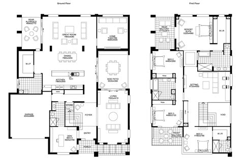 house plans with big bedrooms floor plan friday big storey with 5 bedrooms