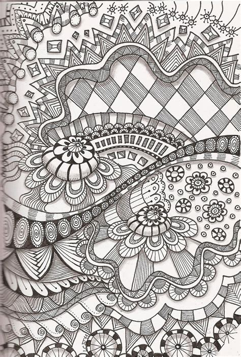 doodle lã sung doodle zentangle