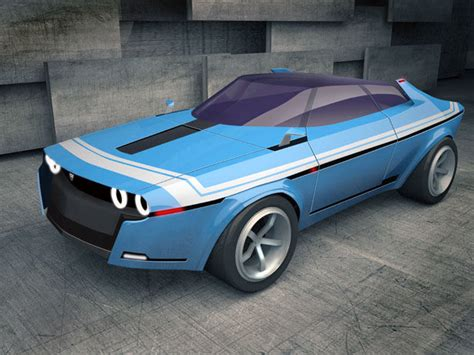 Sports Car Concept by Modernized Retro Sports Cars Concept Sports Car