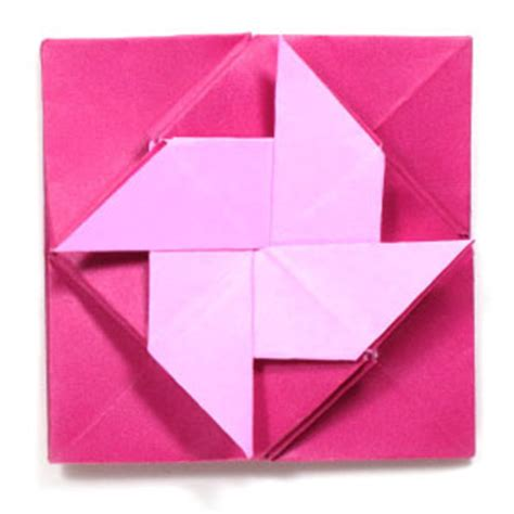how to make origami letters how to make a pinwheel origami letter or menko page 1