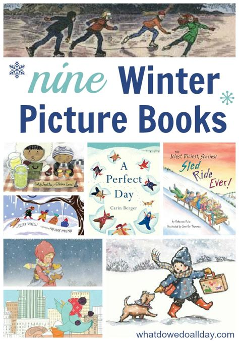 picture books about new winter picture books for