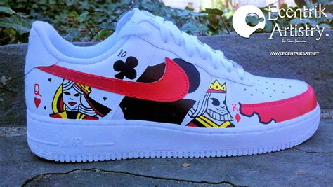 """Poker Face"" Custom Air Force One Low"