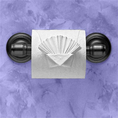 origami toilet paper hotel toilet paper folding