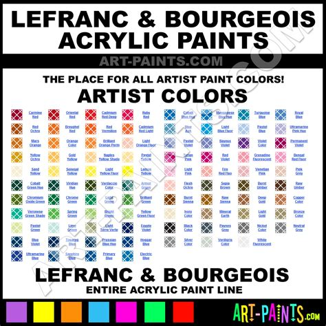 acrylic paint brands lefranc and bourgeois acrylic paint brands lefranc and