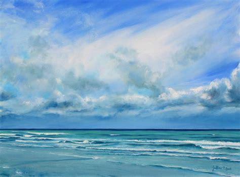 la mer du nord la panne belgique on canvas philippe juttens