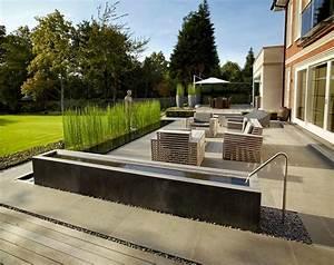 Gestaltung Von Terrassen : d couvrir l 39 endroit du d cor jardin contemporain ~ Markanthonyermac.com Haus und Dekorationen