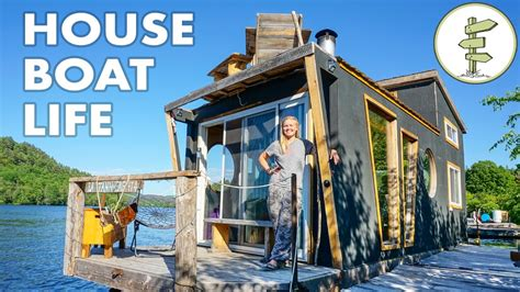 Living On A Boat Full Time Uk by Living On A 4 Season Houseboat Beautiful Floating Tiny