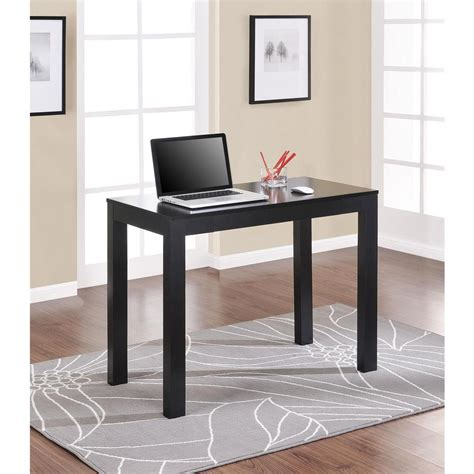 Mainstays Parsons Desk With Drawer Black by Altra Furniture Pursuit Cherry And Gray Desk 9800196 The