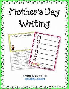 Mother's Day Writing by Wild About Teaching | Teachers Pay ...