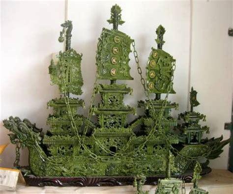 Jade Dragon Boat Carving by Jade Dragon Boat Carvings