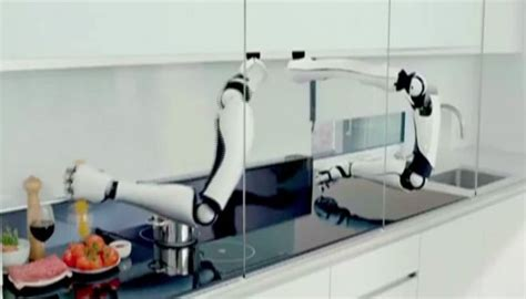 High-tech Kitchen With Robot Chef Set To Tantalize Your