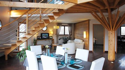 la maison de c 232 dre des maisons rondes 224 ossature bois consommer responsable