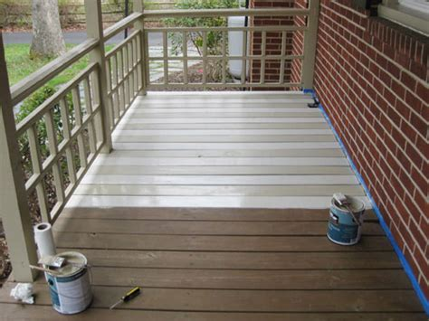 How To Paint A Wood Deck Or Front Porch (we Did Subtle