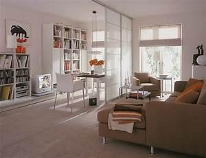 Kleine Wohnung Optimal Einrichten : wohnideen 1 zimmer wohnung ~ Markanthonyermac.com Haus und Dekorationen