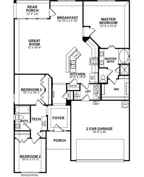 baxter home plan in creek south elm tx beazer homes
