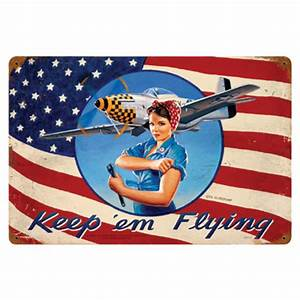 Vintage Aviation Metal Signs - from Sporty's Pilot Shop