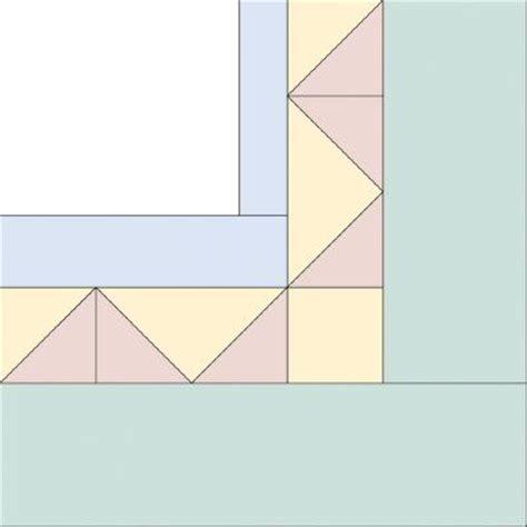 Triangle Quilt Border Templates by Best 25 Quilt Border Ideas On Pinterest Machine