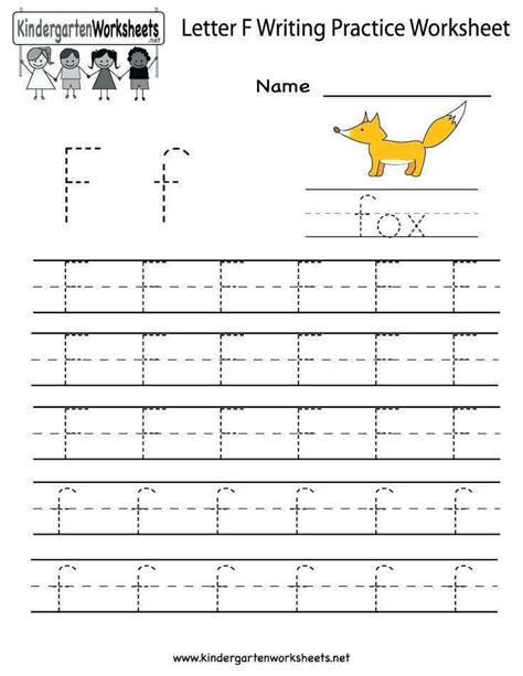 Letter F Worksheets For Preschool Aimcoach Me Letter Best Free Printable Worksheets