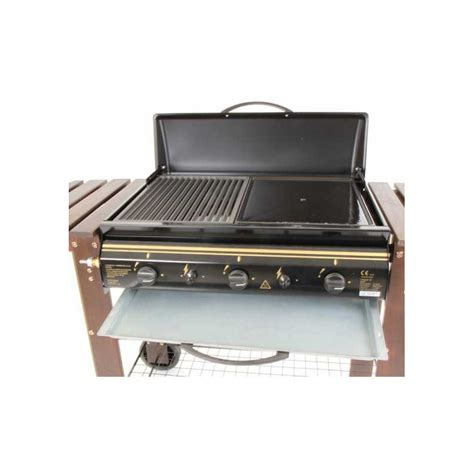 barbecue gaz et plancha missouri somagic 3 bruleurs