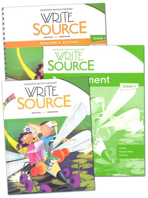 Write Source (2012 Edition) Grade 4 Set (051630) Details  Rainbow Resource Center, Inc