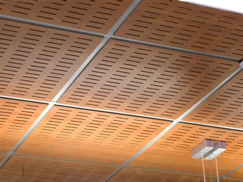 faux plafond acoustique en mdf wood shade lay in 24 by itp