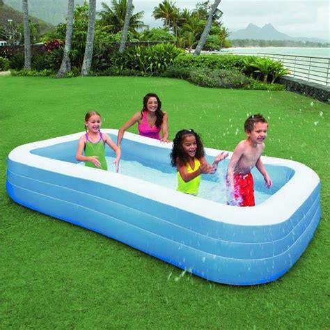 intex piscine rectangulaire family 305x183x56cm achat vente piscine gonflable intex piscine
