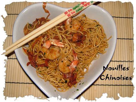 nouilles chinoises aux crevettes et au miel de cuisine cr 233 ative recettes popotte de manue
