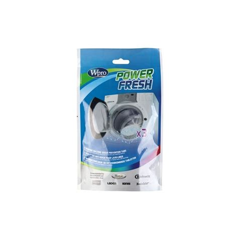 afr300 tablette anti odeur wpro powerfresh lave linge 4801817