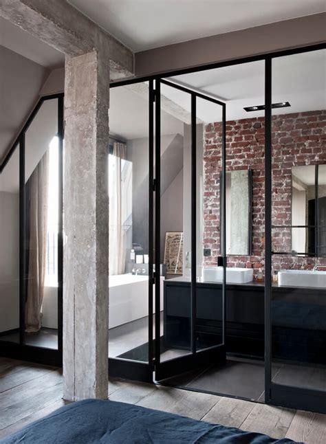 inspiration des portes vitr 233 es style atelier frenchy fancy