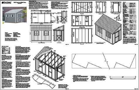 lean to shed topic lean to shed plans 8x16