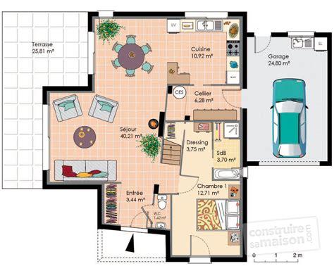 maison moderne et 233 conomique d 233 du plan de maison