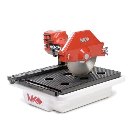 shop mk products 7 in 0 5 tabletop tile saw at