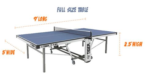 ping pong table sizes size of ping pong table ping pong room