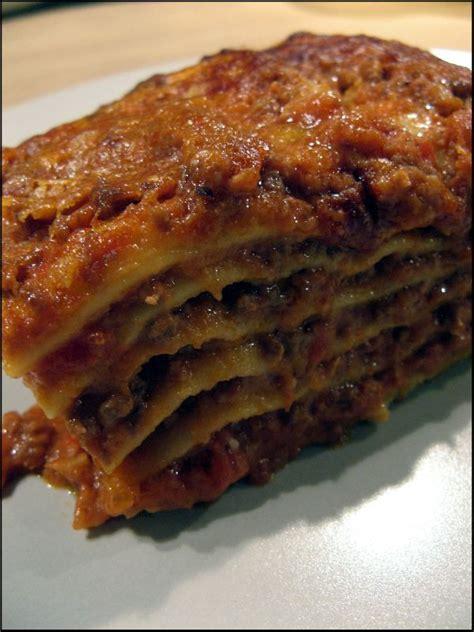 les quot vraies quot lasagnes 224 la bolognaise a la table de gaelle
