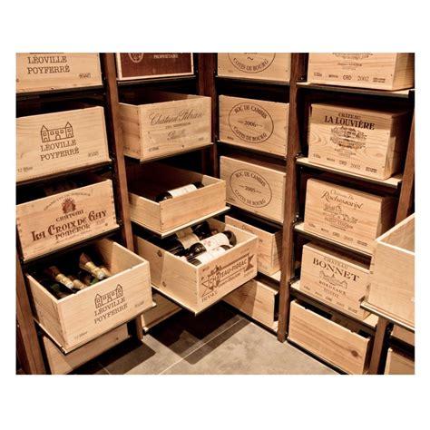 rangement caisses de bouteilles de vin modulorack ranger ses bouteilles dans leur caisse