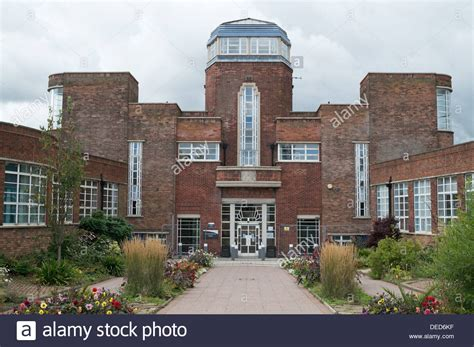 newcastle west end college deco style building benwell stock photo royalty free
