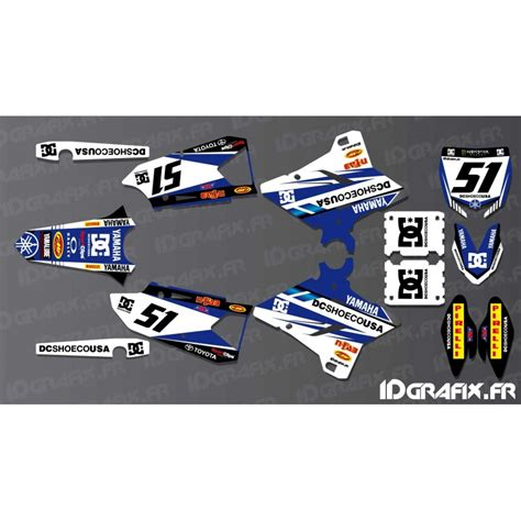 kit decoration dc edition yamaha yz yzf 125 250 450 idgrafix