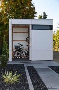 Gartengerätehaus Selber Bauen : die besten 25 fahrrad unterstand ideen auf pinterest fahrradgarage fahrradabstellraum und ~ Markanthonyermac.com Haus und Dekorationen