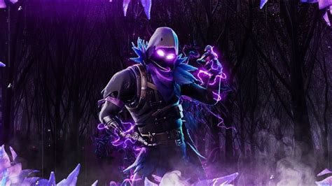 Free Fortnite Raven Wallpaper